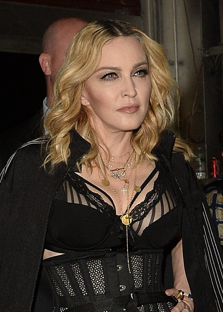Madonna Keeps Up With Daughter Lourdes at Alexander WANG Fashion Show