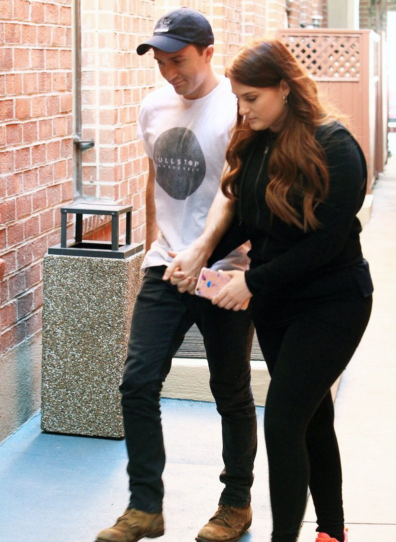 ME TOO, NO?... Meghan Trainor Leaves Beverly Hills Medical Facility With a Boyfriend