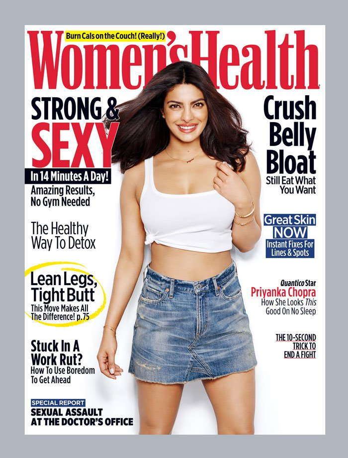 YOU GO PRI! Priyanka Chopra Advocates Feminism in Womens' Health!
